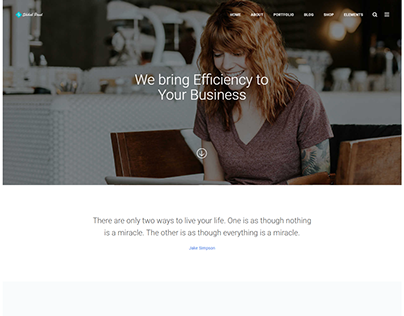 Simple Business Website