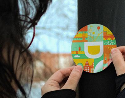 Designit Stockholm Stickers