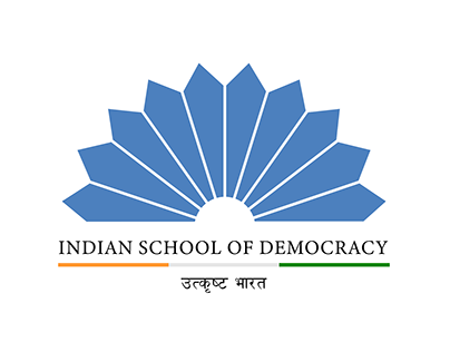 For Indian School of Democracy (Design)