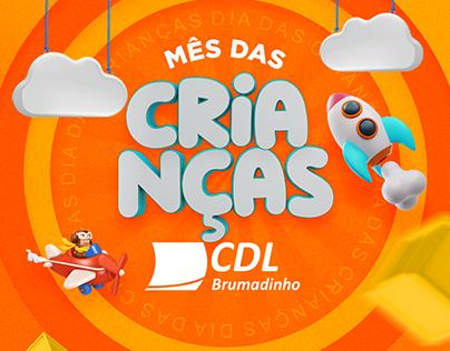 Campanha dia das Crianças - CDL Brumadinho