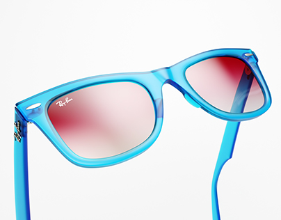 Ray Ban Wayfarer - Summer Collection 2018 - CGI