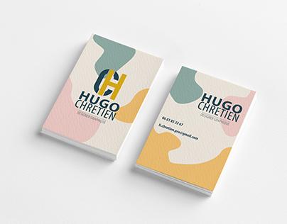 Carte de visite Hugo Chretien