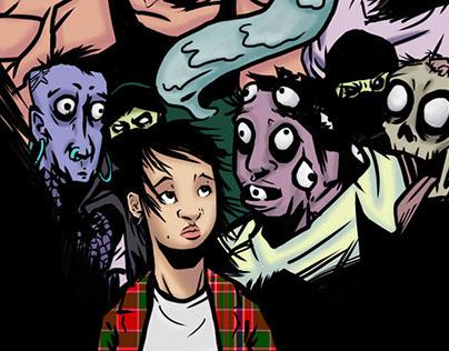 Elisa y los Mutantes Comic