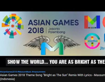 Asian games 2018 Official theme song remix with lyrics