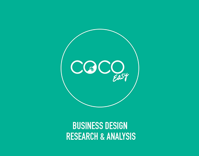 CocoEasy - Design research & Visualisation