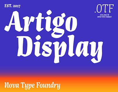 Artigo Display Font