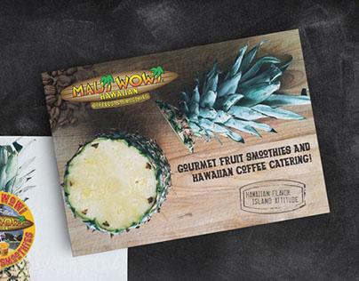 Maui Wowi Promotional Postcard