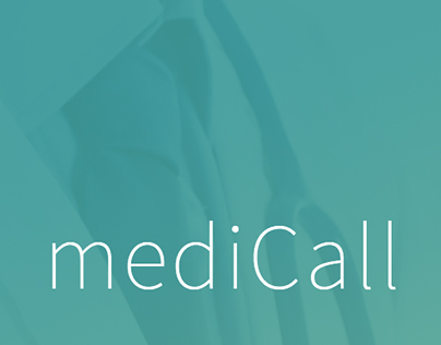 mediCall UI Design