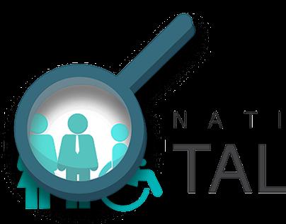 National Talent Summit Logo, 2nd Draft