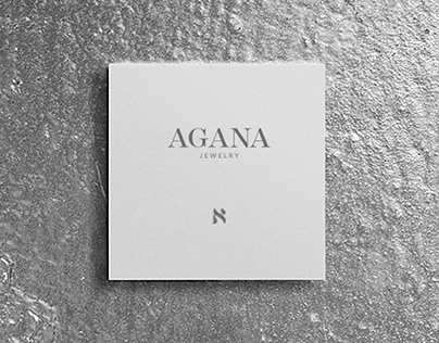 AGANA JEWELRY brand book