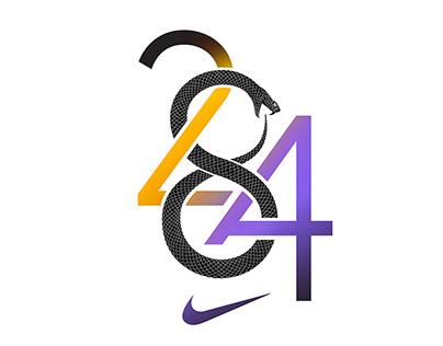 KOBE 24 + 8 + 🐍 + ∞ + LA