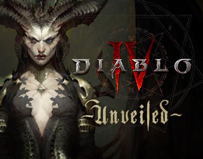 DIABLO IV: UNVEILED   PRESENTATION ART DESIGN