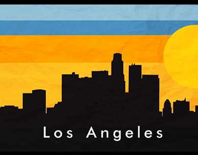 Los Angeles Skyline: Motion Graphic & Design