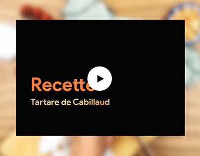 VIDEO : Recette