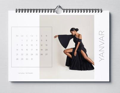 Calendar Project for Dancers | 2019