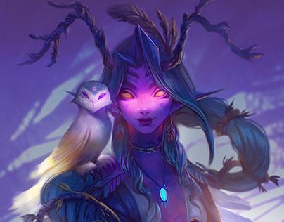 Druid Melissa Moonlight
