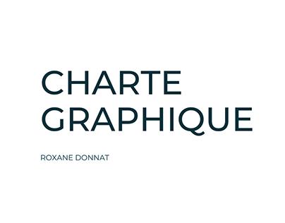 Charte Graphique Roxane Donnat