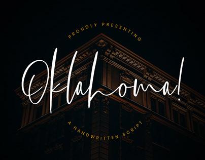 Free Oklahoma Handwritten Script Font