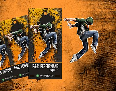 P&R PERFORMANS LABEL CARD DESİNG