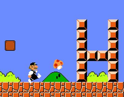 CA Brive Mario Bros Introduction