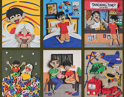 LOLA PUTI: Re-illustrations and Book Promotions