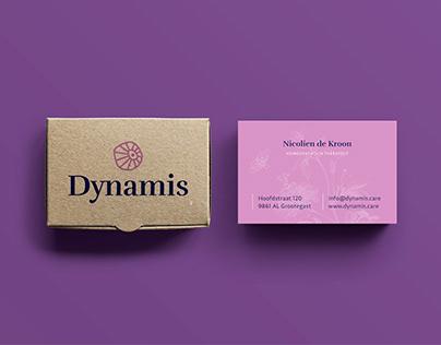 Dynamis logo and visual identity design