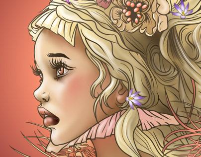 La princesse au nid de poussins