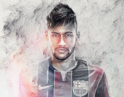 Neymar - Digital Illustration