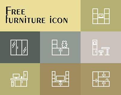 Free furniture icon