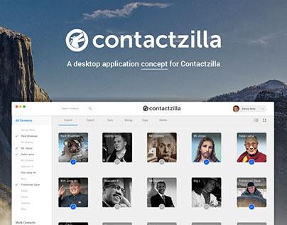 Contactzilla Concept