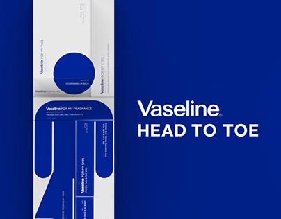 Vaseline Head to Toe | Packaging Workshop