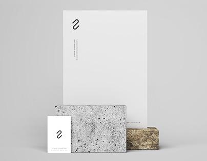 Letterhead and Business Card Branding Mockup