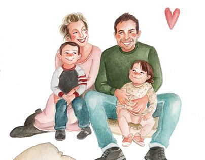 Illustrazioni famigliari