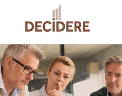 DECIDERE – Corporate Design – Website