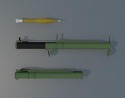 Low Poly RPG-18