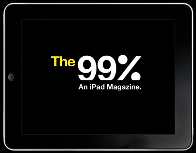 The 99%: An Ipad Magazine (Proposal)