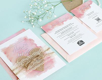 Shawn & Megan's Wedding Invitations