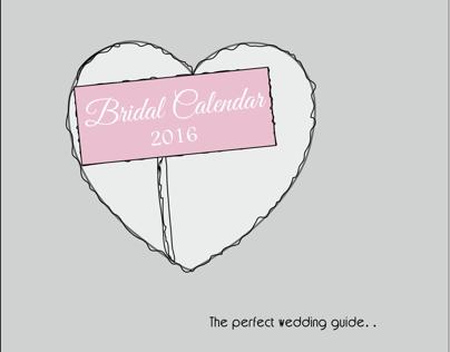 Bridal Calendar 2016