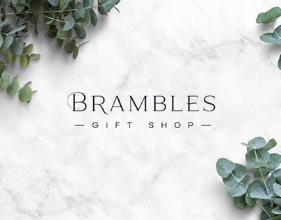 Bramble Gift Shop Brand Identity