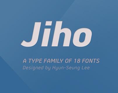 Jiho Type Family (18 fonts)