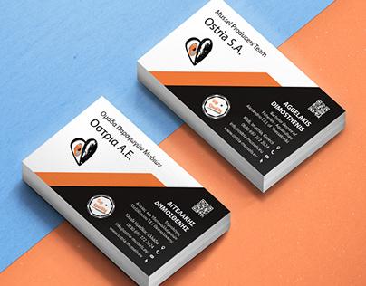 Business Card | Ostria S.A.