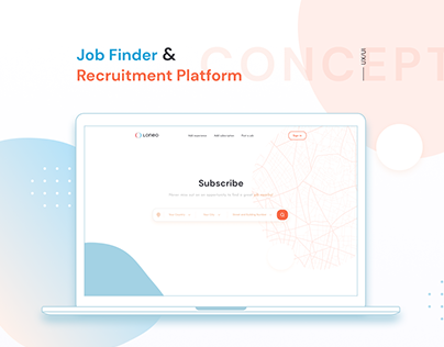 Job Finder   Concept