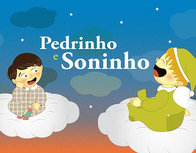 Livros Infantis - Pedrinho e Soninho / Davi e o Trem