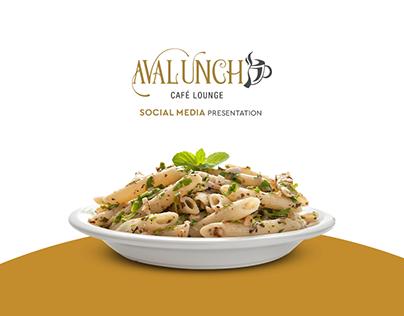 Avalunch - Social Media
