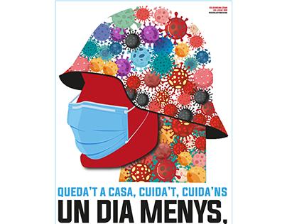 Cartel Publicitario Covid-19 Colaboración