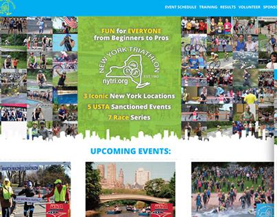 New York Triathlon Brand Development & Web Design