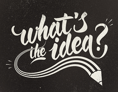 What's the idea?