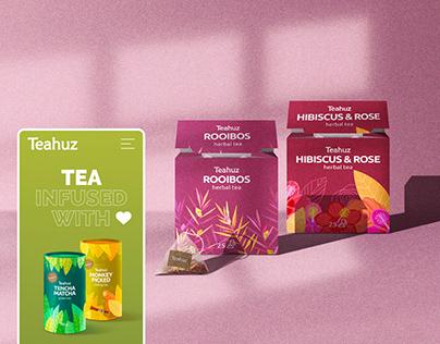 Teahuz Tea Production Website