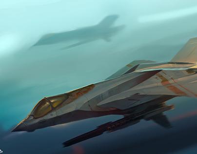 VF-24 Fighter Jet Concept