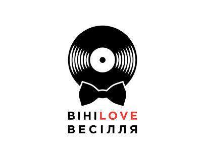 Logo ВініLOVE Весілля